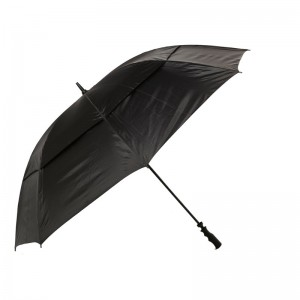 "GOLF CRAFT 68"" WINDBUSTER UMBRELLA - BLACK"