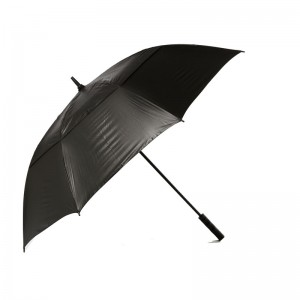 "GOLF CRAFT 62"" UV BLACK UMBRELLA"