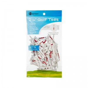 "GOLF CRAFT TEE SYSTEM 2 1/8"" GOLF TEES - 75 PACK"