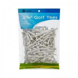 "GOLF CRAFT 2 3/4"" WOODEN GOLF TEES - 250 PACK"