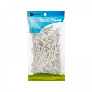 "GOLF CRAFT 2 3/4"" WOODEN GOLF TEES - 100 PACK"