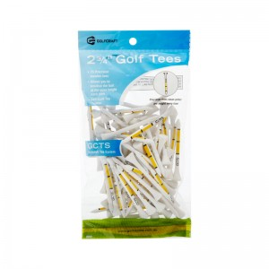"GOLF CRAFT TEE SYSTEM 2 3/4"" GOLF TEES - 75 PACK"