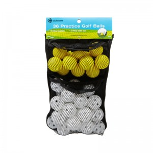 GOLF CRAFT 36 PRACTICE GOLF BALLS