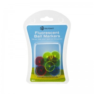 Golf Craft Flourescent Ball Markers