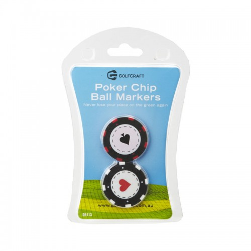 Golf Craft Poker-Chip-Ball-Markers