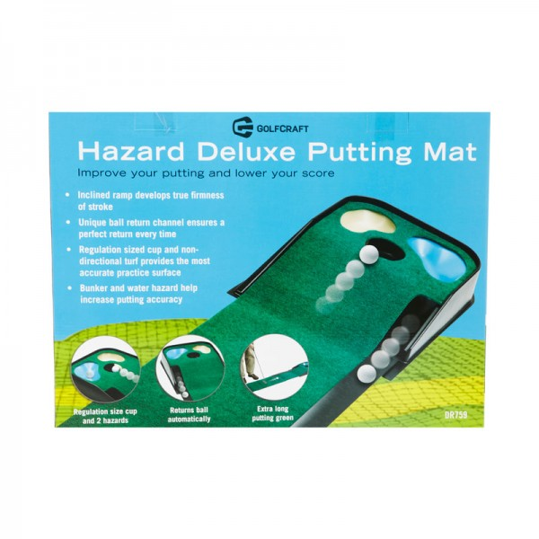 golf craft hazard deluxe putting mat golf works