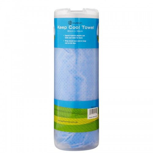 GOLF CRAFT COOLING TOWEL - BLUE