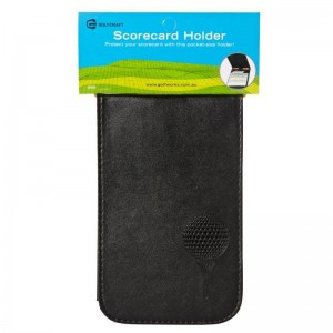 GOLF CRAFT SCORECARD HOLDER