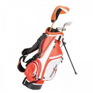 POWERBILT ORANGE JUNIOR PACKAGE - AGE 3 TO 5