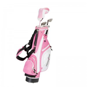 POWERBILT PINK JUNIOR PACKAGE - AGE 5 TO 8