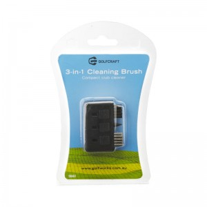 GOLF CRAFT 3 IN 1 CLEANING BRUSH