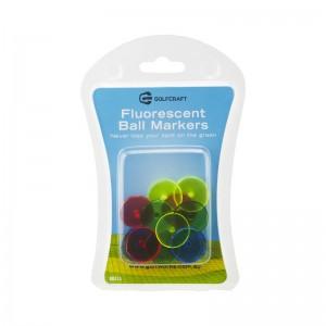 Golf Craft Flourescent Ball Markers