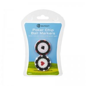 Golf Craft Poker-Chip-Ball-Markers
