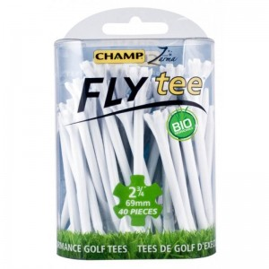 "CHAMP FLY TEE 2 3/4"" GOLF TEE - BLUE 40PK"
