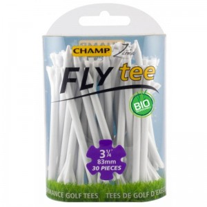 "CHAMP FLY TEE 3 1/4"" GOLF TEE - WHITE 30PK"